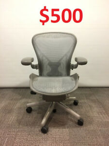 Herman Miller Aeron in Silver From $500