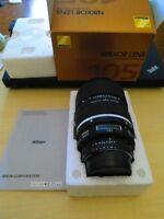 Nikkor Lens  105 DC  F2.  Nikon's best lens!