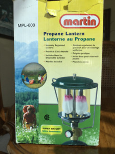 PROPANE CAMPING LIGHT with extension