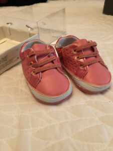 Mayoral Pink Baby Sneakers size 5-7 months
