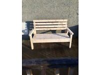 Nice handmade wooden bench (new)