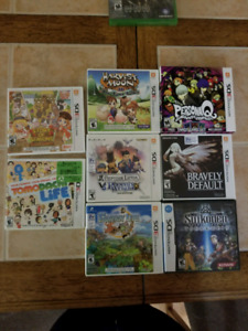 Nintendo 3DS games for sell