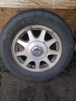 4 used tires - Chevy Impala