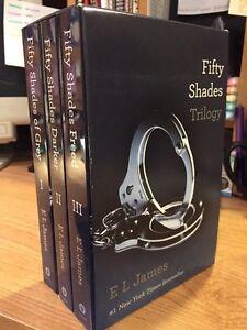 50 Shades trilogy (box set)