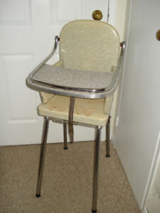 retro highchair decor only