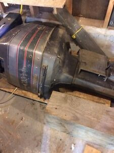 140 hp full outboard OMC 1988 -Reduced