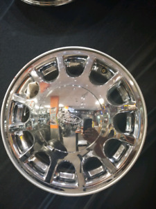 4 mags ford 15 pouce 5x108 chrome