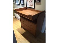 Childs chest of drawers/changing table