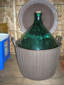 4 x 54 liter demijohn carboys (sell as a lot or separately)