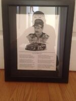 In Memory Of Dale Earnhardt Sr. Framed Picture