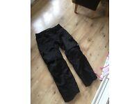 Alpinestars motorcycle cargo pants
