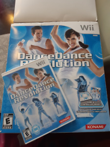 Jeu Wii Dance Dance Revolution
