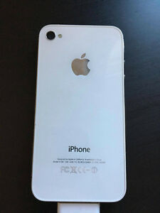 Mint White iPhone 4s 8gb Peterborough Peterborough Area image 1