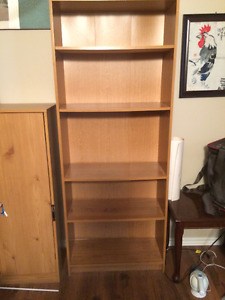 Moving Sale: Large Brown Bookcase