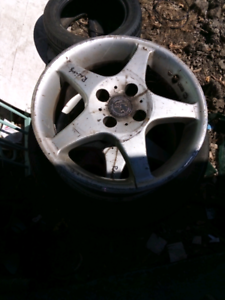 tyres and mags for ford laser or mazda 323