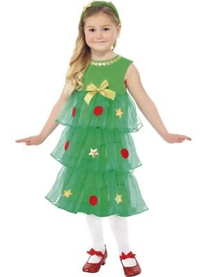Weihnachtsbaum Kostüm Kleid KINDER (Weihnachtsbaum Kostüm Kind)