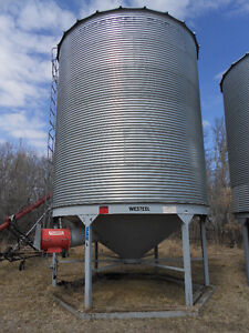 Grain Bins and Aeration Fans for Sale