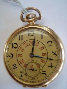 Vintage 14kt Solid Gold 'LONGINES' Pocket Watch