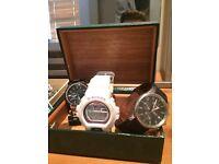 Gucci watch / d & g watch / g shock watch