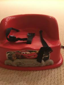 Lightning McQueen Chair Booster Seat