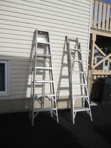 Step Ladders 7', 12' and Articulating Ladder
