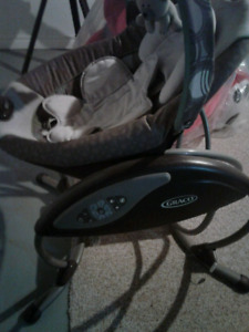 Graco LX Baby Swing 6 Speed-Sounds & Music