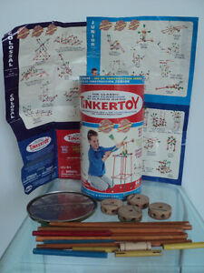 2 VINTAGE HASBRO THE CLASSIC TINKERTOY CONSTRUCTION SETS Cornwall Ontario image 6