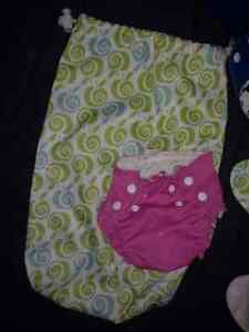 Size 1 lot of AppleCheeks diapers inc discontinued London Ontario image 3
