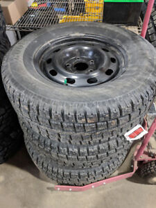 Cooper Discoverer M and S Winter tires and steel rims
