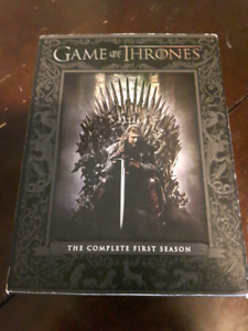 Complete First Season Game of Thrones DVD Box Set