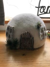 New Igloo Christmas decoration
