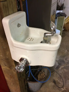 vintage water fountain