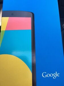 SEALED NEVER OPENED NEVER TOUCHED NEXUS 5