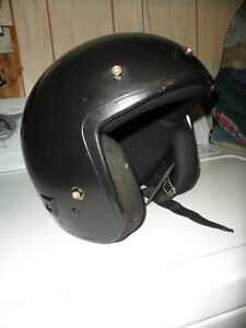 Casque de moto ou scooter.