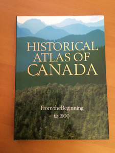 Historical Atlas of Canada 4 Volume Hardcover Set