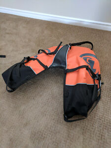 Giant loop coyote saddle and Diablo pro tank bag.