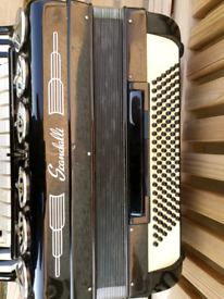 Scandalli accordion 120 bass