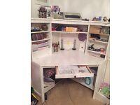 Corner desk - almost new