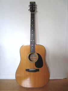 TCM Acoustic Guitar With Case