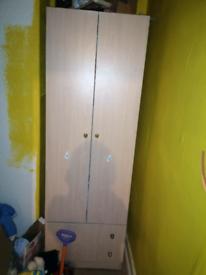 Wardrobe and matching drawers