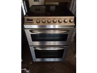 zanussi electric ceramic cooker with warranty