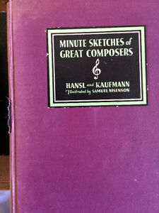 1932 Minute sketches of Great composers