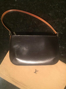 Louis Vuitton Mat Fowler Monogram Vernis Black Bag