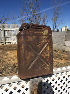 Antique Jerry Can