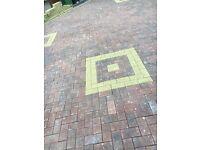Brindle block paving bricks