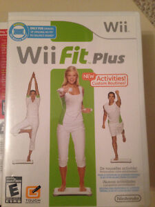Wii Fit + Games