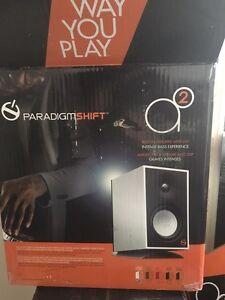 Paradigm shift speakers
