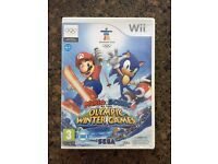 Nintendo wii Mario & Sonic at the Winter Olympic games
