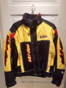 Ski Doo Winter Coat with removeable liner Size LG