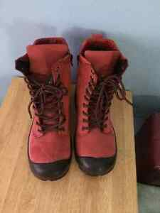 Pink Steeltoe leather working boots West Island Greater Montréal image 3